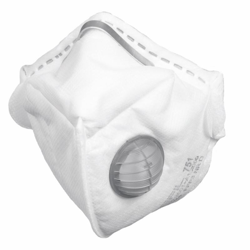 REFIL 751 FFP3 respirátor skládací ventilek