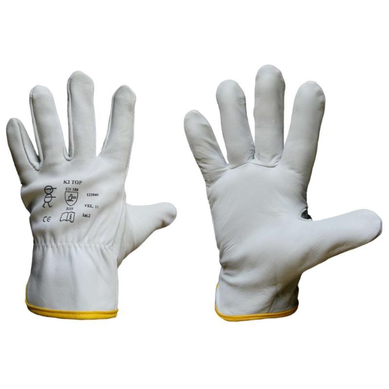 K2 WINTER TOP rukavice zimní celokožené jemné