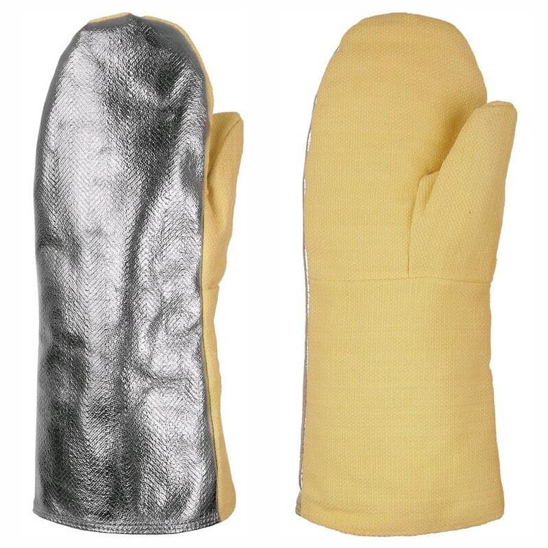 PARROT AL rukavice palcové 350/500°C hliník - 10