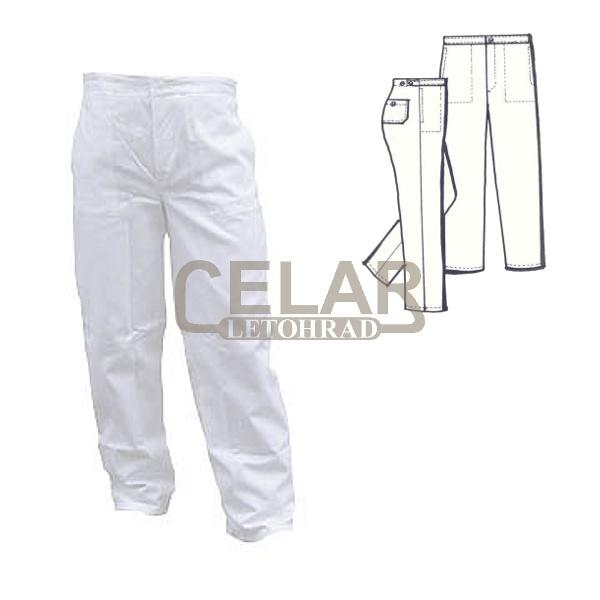 (0460) kalhoty pánské lékařské do pásku