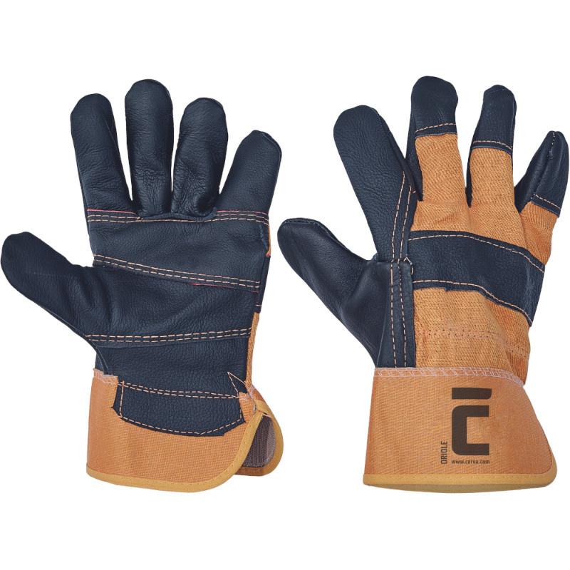 ORIOLE rukavice z lícové nábytkové hověziny - 10