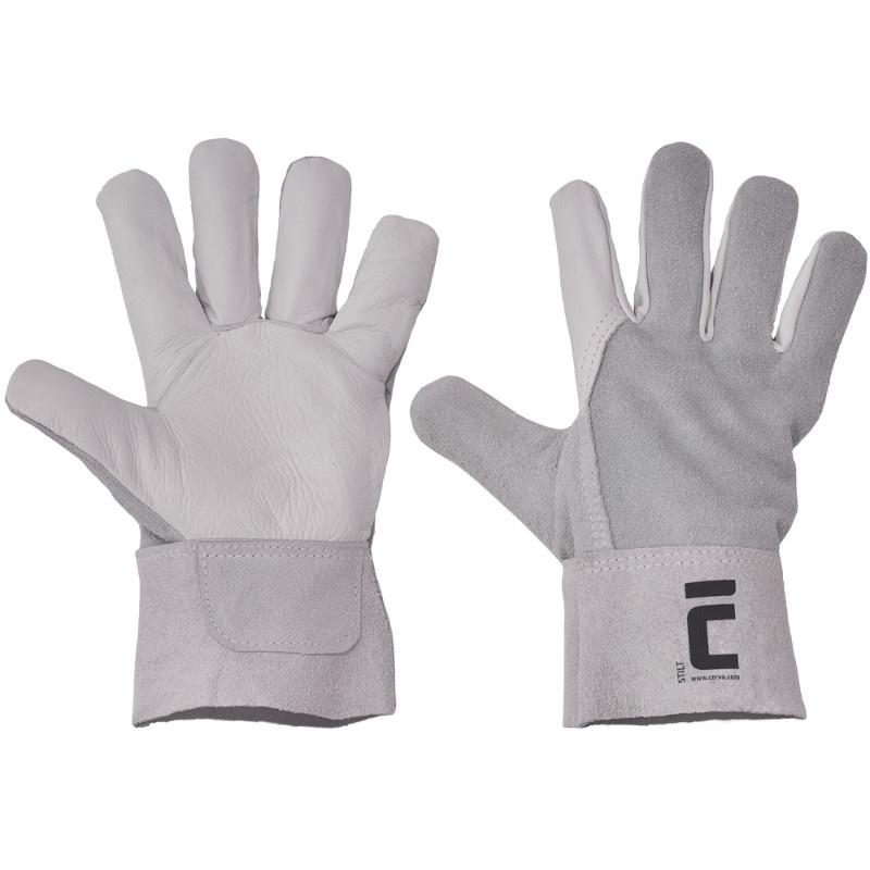 STILT rukavice celokožené tuhá manž.7cm - 10.5