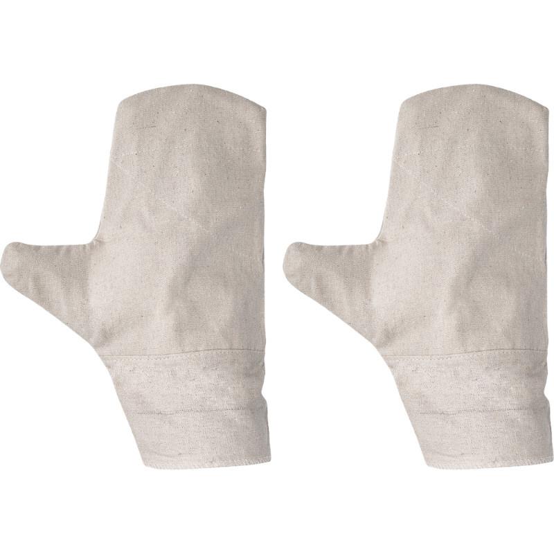 OUZEL rukavice textilní palcové zdvojená dlaň - 10