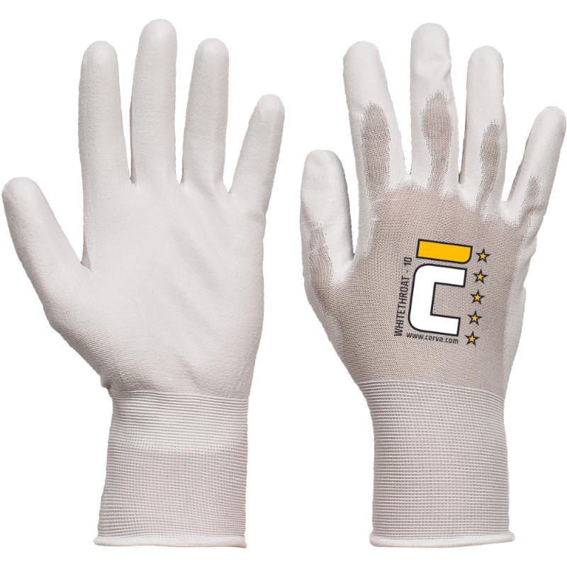 WHITETHROAT rukavice nylon/PU