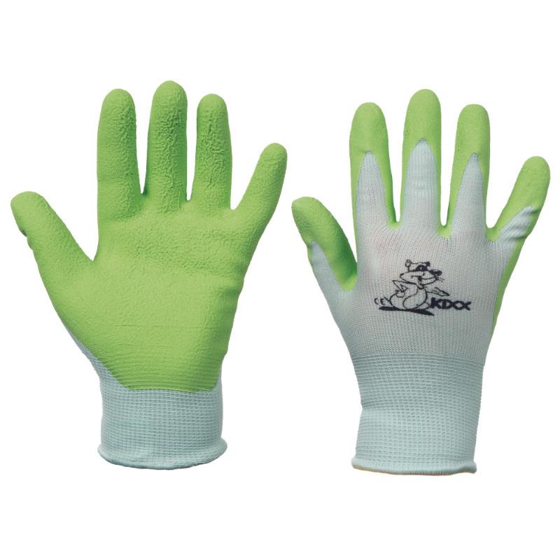 FUDGE KIXX rukavice nylon/latex - zelená