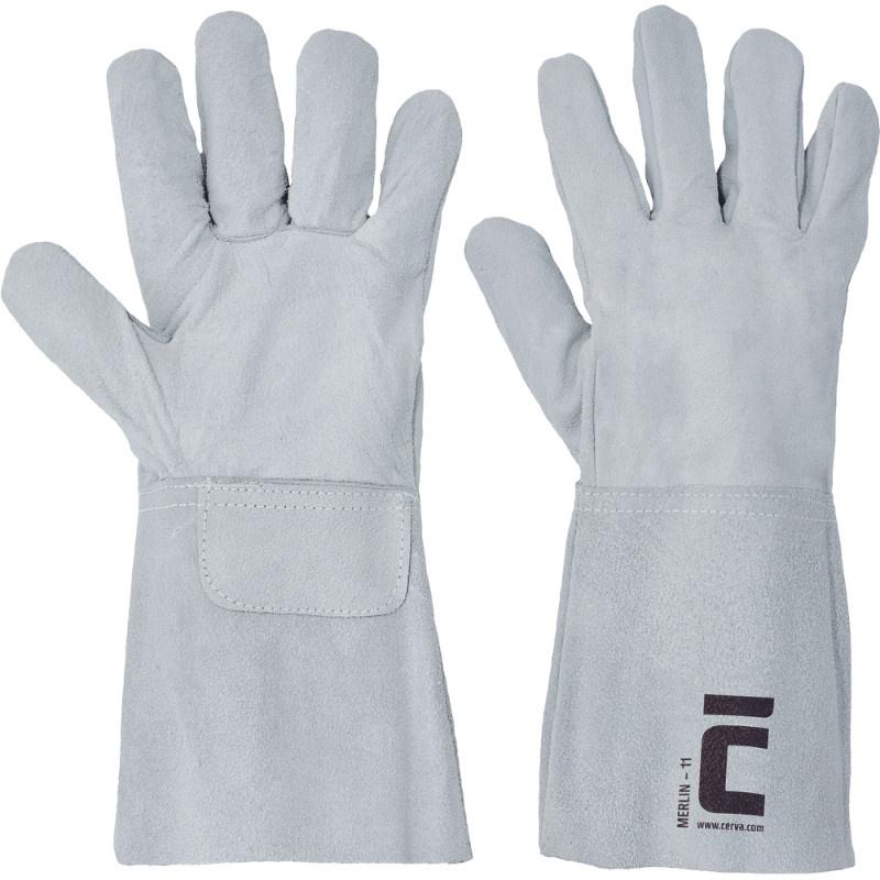 MERLIN rukavice svářečské-B  manžeta 15cm - 11