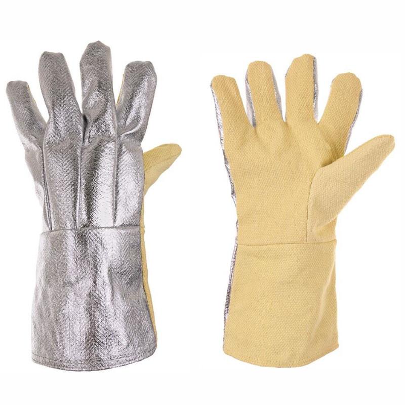 SCAUP AL rukavice 5-prsté 250/500°C hliník - 10