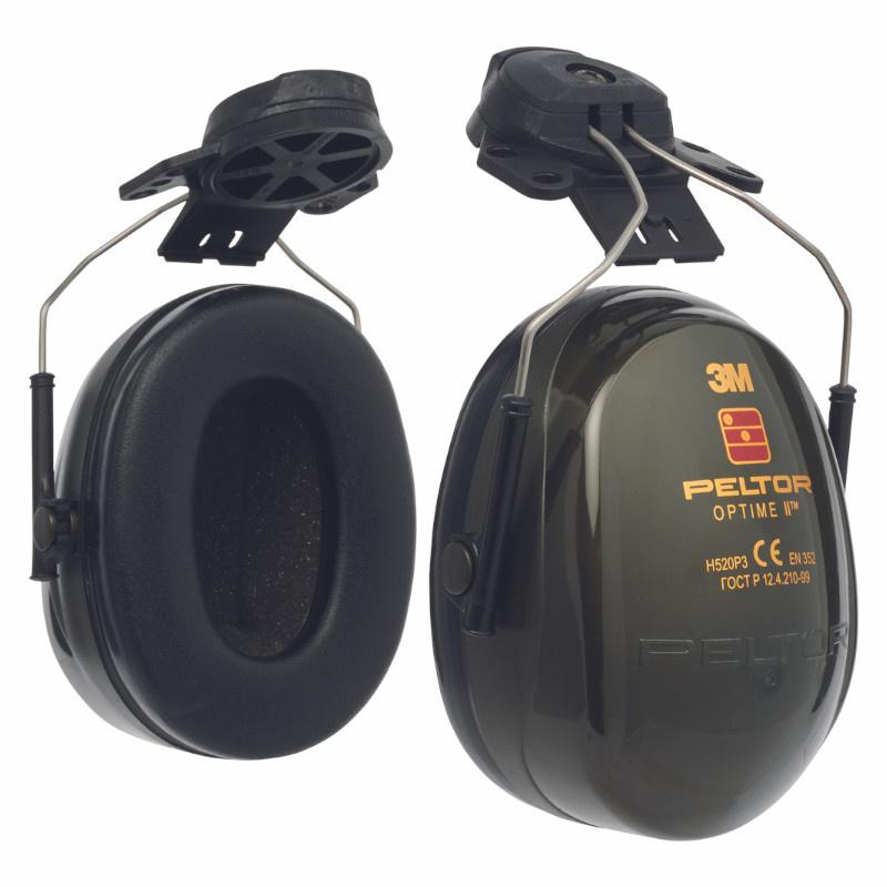 3M PELTOR H520P3E-410-GQ OPTIME 2 sluchátka - přilba