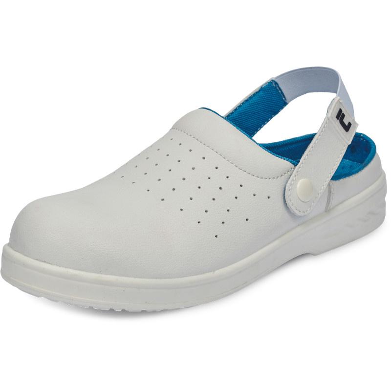 RAVEN WHITE SLIPPER OB sandál protiskluzový