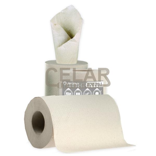 MAXI 150m 1-vrstvý papírový ručník role šedý (6ks)