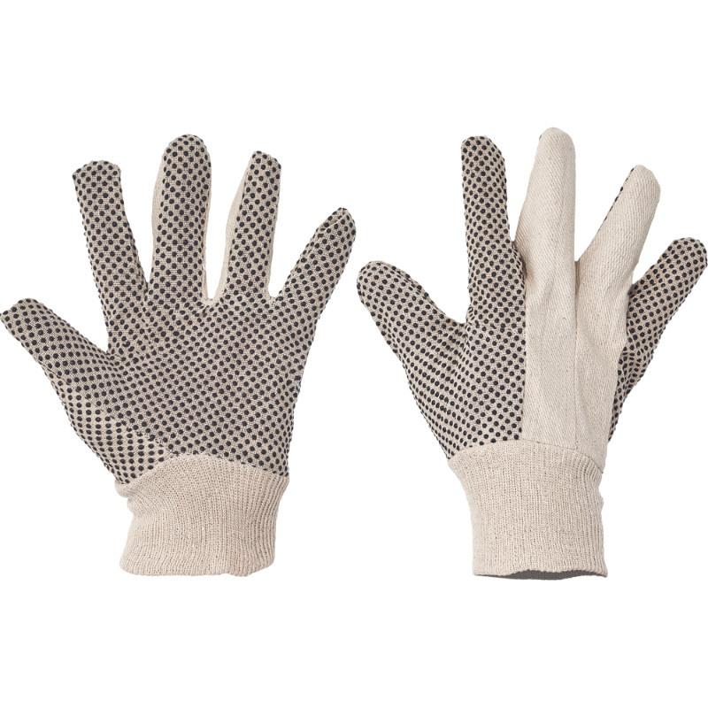 OSPREY rukavice ba dlaň a prsty PVC terčíky - 10