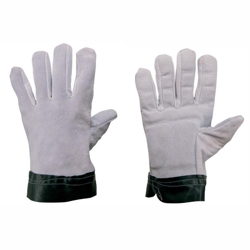 TEMA - MANŽETA - rukavice antivibrační celkožené - 10