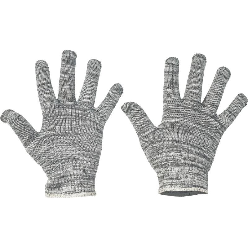 BULBUL rukavice bezešvý úplet nylon/bavlna