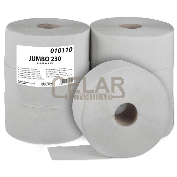JUMBO 230mm toaletní papír (6ks)