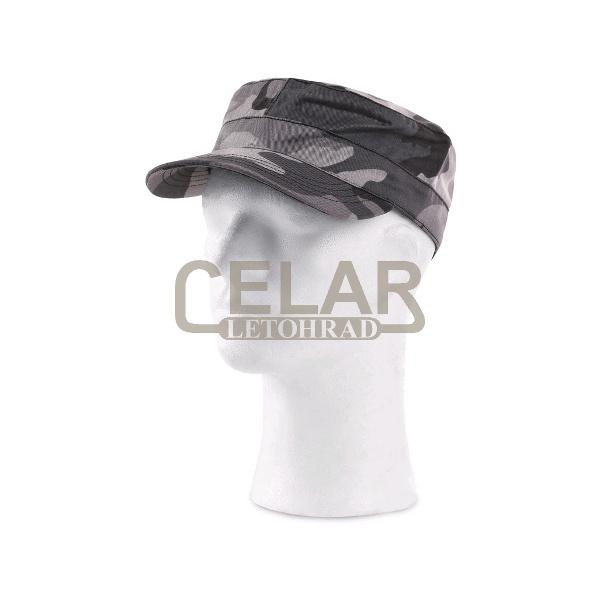VENATOR - maskáčová čepice s kšiltem