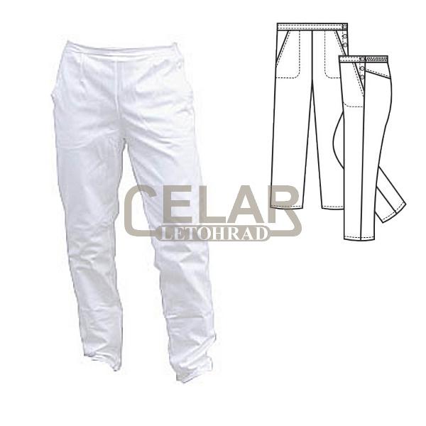 (0476) kalhoty dám.vzadu guma,boč.zap.
