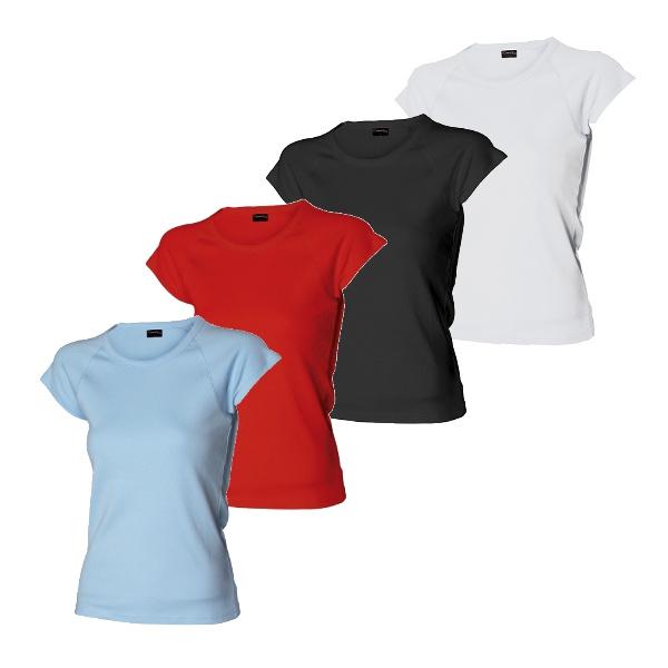 tričko 0113 dámské kr.ruk.210g