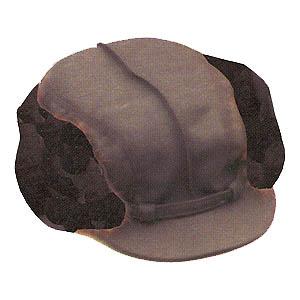 Lesnická čepice barv.jehnětina