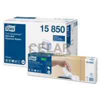 TORK papírové ubrousky 2vrstvy 21,6x16,5 bílé 8x1000ks
