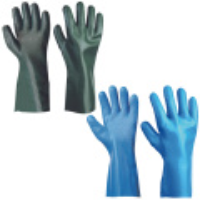 UNIVERSAL AS30 POSYP rukavice PVC chemické