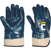 BORIN rukavice celomáčené nitril modré