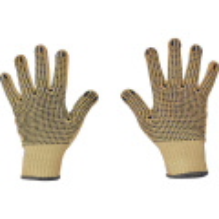 CHIFFCHAFF rukavice kevlarové s PVC terčíky