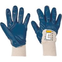 ATER rukavice polomáčené nitril náplet