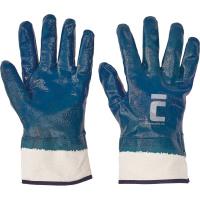 SWIFT rukavice celomáčené nitril modré