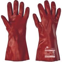 FULIGULA FH rukavice z ba úpletu máčené v PVC - 10