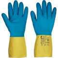 CASPIA rukavice máčené latex a neopren