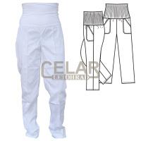 (2403) HELA kalhoty D elastický pás