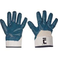 RUFF - rukavice polomáčené nitril manžeta