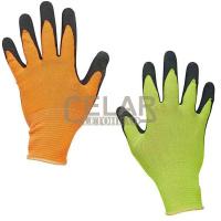 BUBO rukavice nylonové+latex