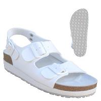 Sandály KUCHYŇ 2-p.zdr.dám.klínek protiskl.