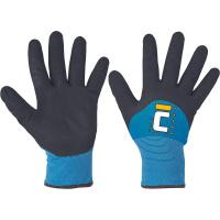 MILVUS - rukavice zateplené máčené v nitrilu