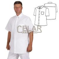 (0200) košile pánská krátký rukáv