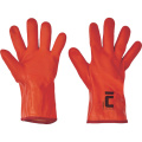 FLAMINGO rukavice ba úplet máčený PVC 35cm - 11