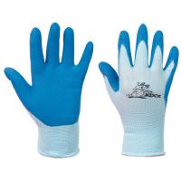 CHUNKY KIXX rukavice bavlněné s PVC terčíky - modrá